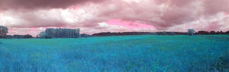 panorama scenic view nature colorful popart