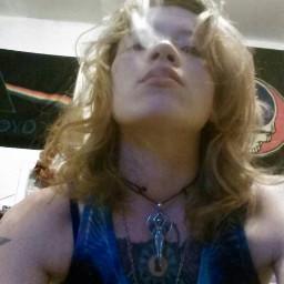 girl cute color photography vape smoke