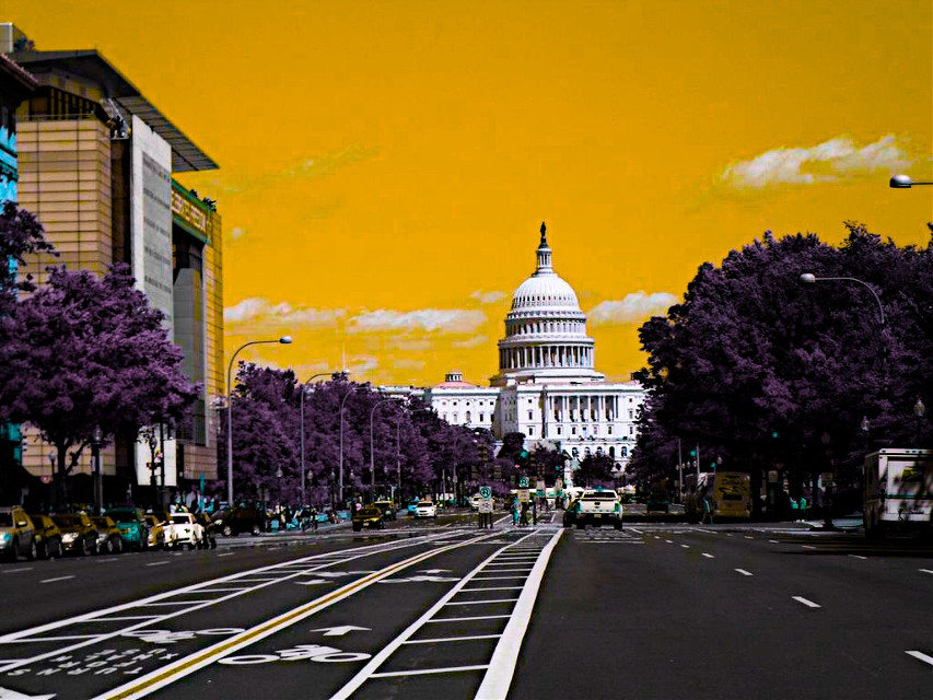 Washington in Yellow Sky