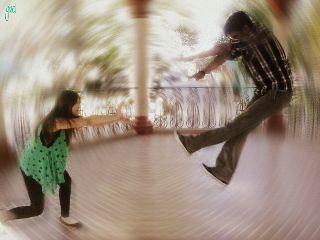 blur people