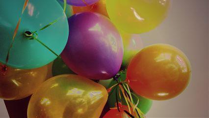 balloon birthday colorful cute happy