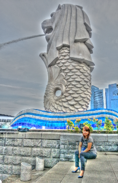 nature photography travel merlion
