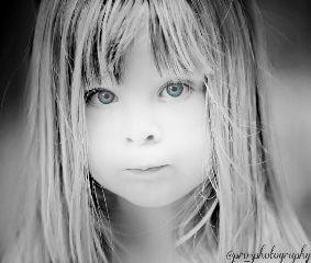 beautiful black & white cute hdr people
