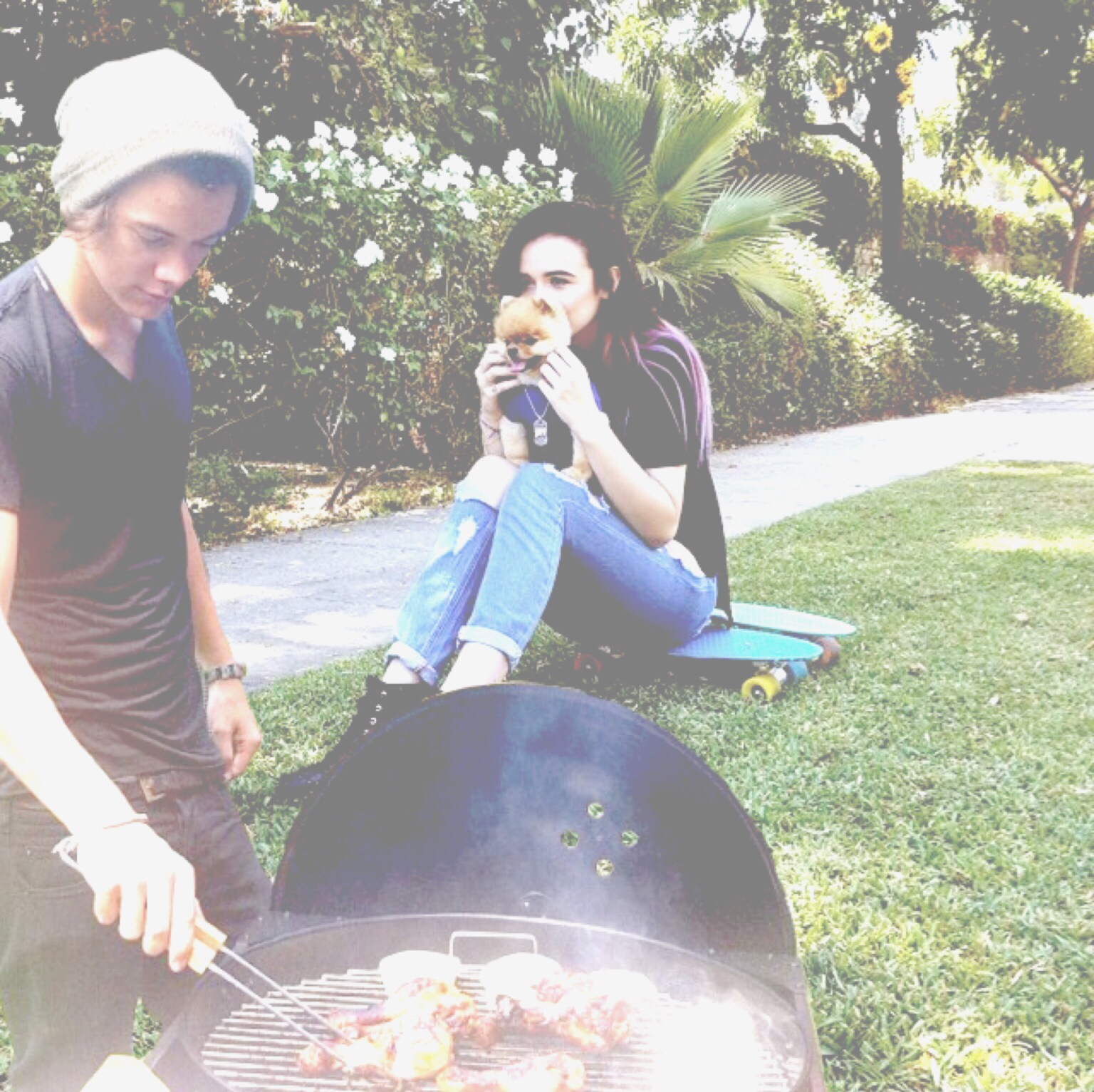 Harry Styles And Acacia Brinley