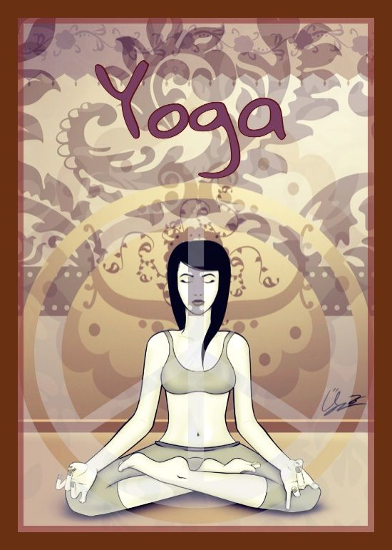 yoga class poster graphic design contest