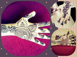 henna collage