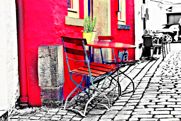 streetphoto color splash