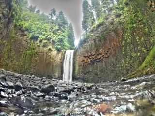 waterfall northwest oregon hiking travel