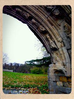 arch view autumn cute travel