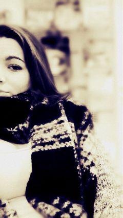 blackandwhite emotions hdr winter snow