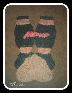 socks candybar handmade villasukat mars