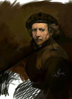 art drawing portrait rembrandt wdpportrait
