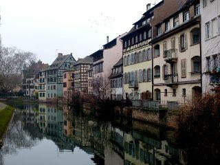 petite strasbourg travel reflections photograph