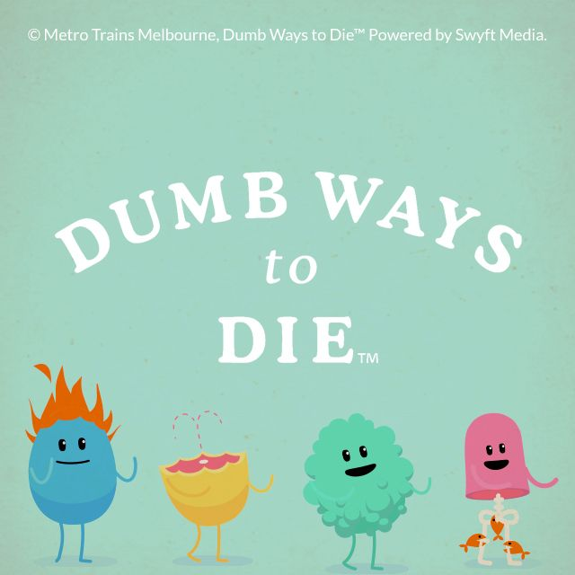 bumb ways to die clipart