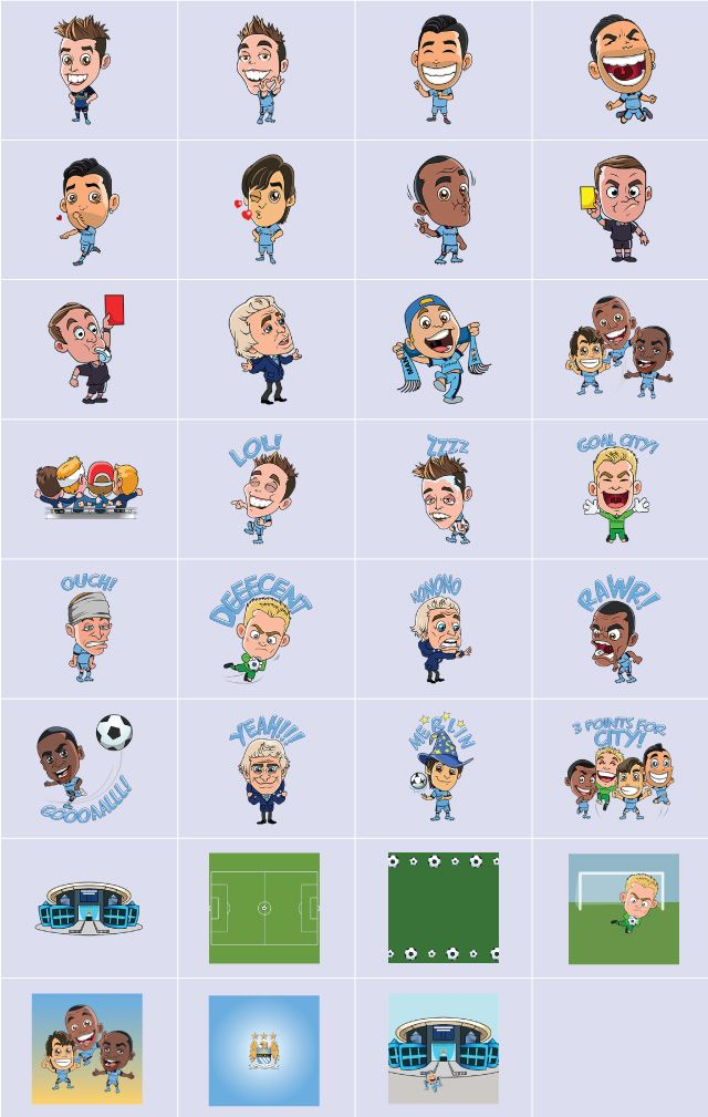 Manchester city clipart